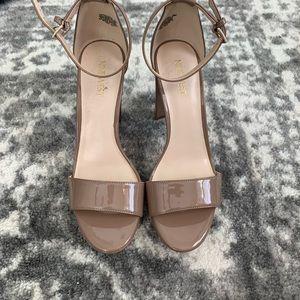 Nine West nude shoes